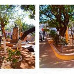 ¿Cuál es el parque más pequeño del Casco Histórico?