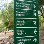 Caminando por el Parque Estudiantil Juana Laínez