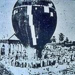 Un salto inesperado desde un globo sucedió en 1900