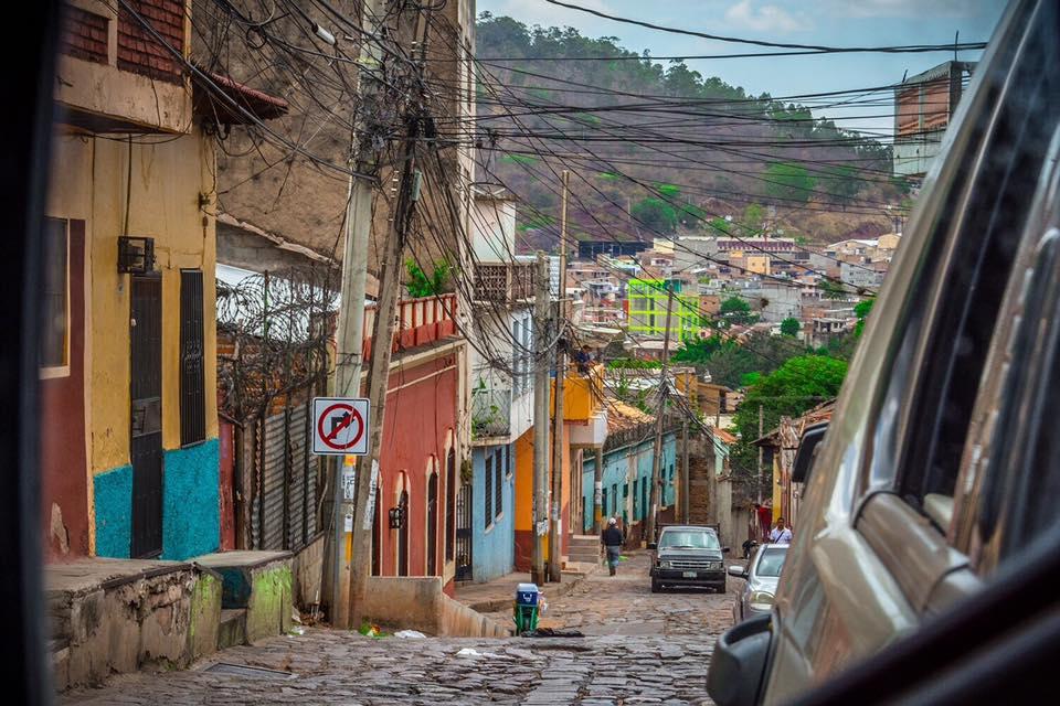 Calles de piedra aun se pueden observar en el centro - Foto de Manuel Torres