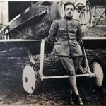 Acrobacias en el cielo de Tegucigalpa en 1922