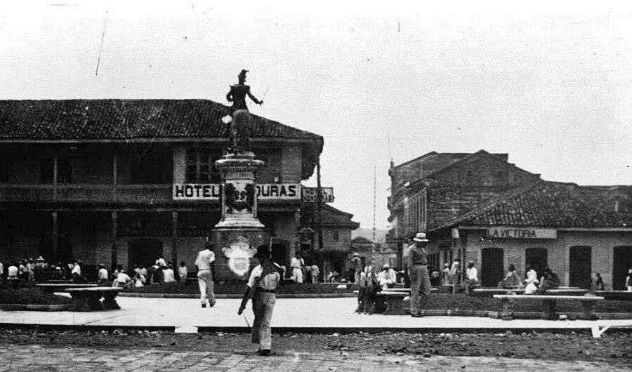 centro historico tegucigalpa