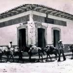 Comercio en la Avenida Cervantes a principios del siglo XX