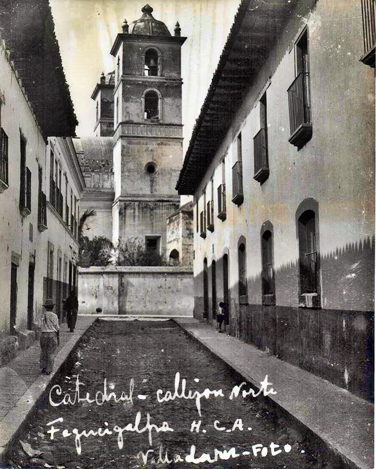 El callejón en la década de 1930