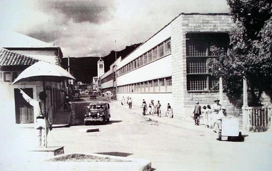 En este edificio se ubicó uno de los más antiguos colegios
