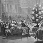 El primer árbol de navidad de Tegucigalpa