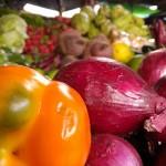 Los colores del mercado, un poema de siembra