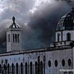 Incendio en los mercados - Foto de Fuad Azzad Ham