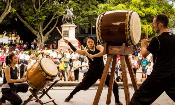 Los tambores japoneses del Taiko Project