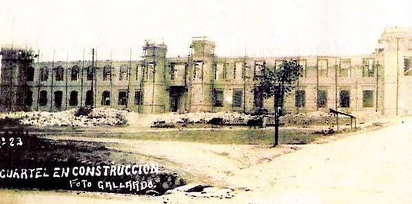 Con aires de fortaleza y distinción se construyó el Cuartel de Veteranos