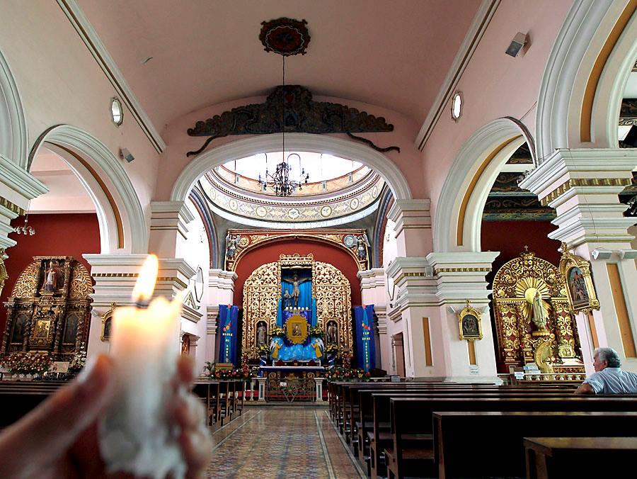 Desde la fachada de Los Dolores hasta el interior existen miles de detalles y símbolos - Foto de El Heraldo