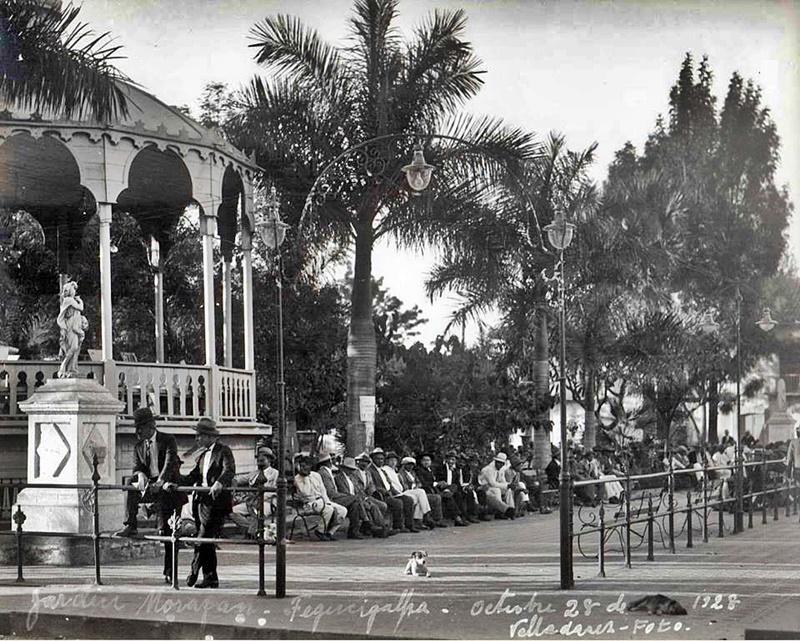 Parque Central en 1928