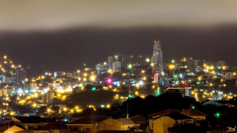 El frío de Tegucigalpa llegaba a niveles insospechados _ Foto de Ram On