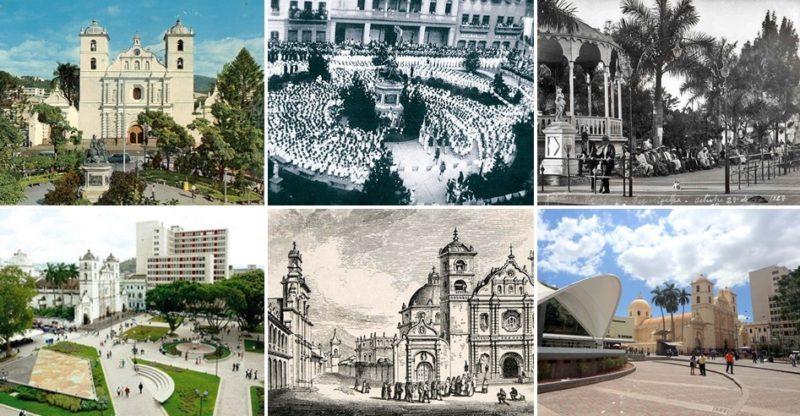 Los cambios de la Plaza Central Morazán