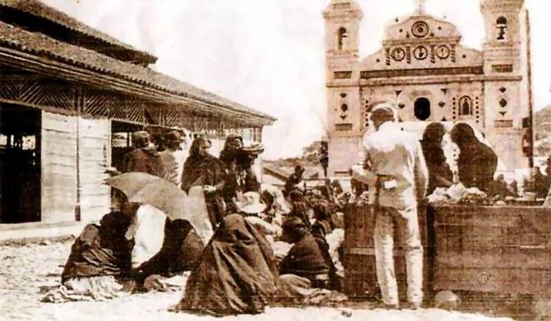 Mercado Los Dolores 1920 - Foto de Honduras Hoy