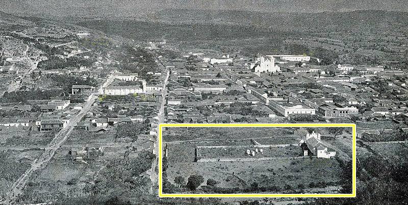 El antiguo cementerio de Tegucigalpa