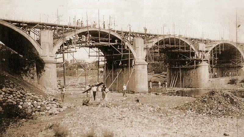 El 12 de julio en proceso de construcción