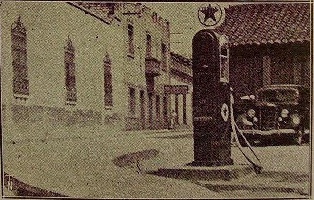 La venta de gasolina del centro- Foto de Hibueras Ancestral