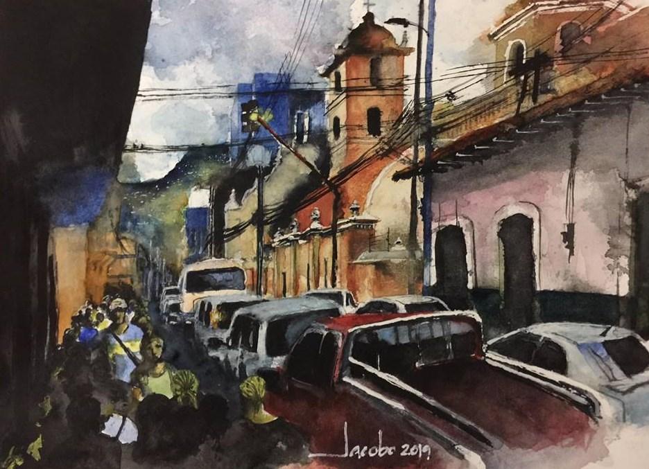 Sobre la Avenida Cervantes - Por Jacobo Bertrand
