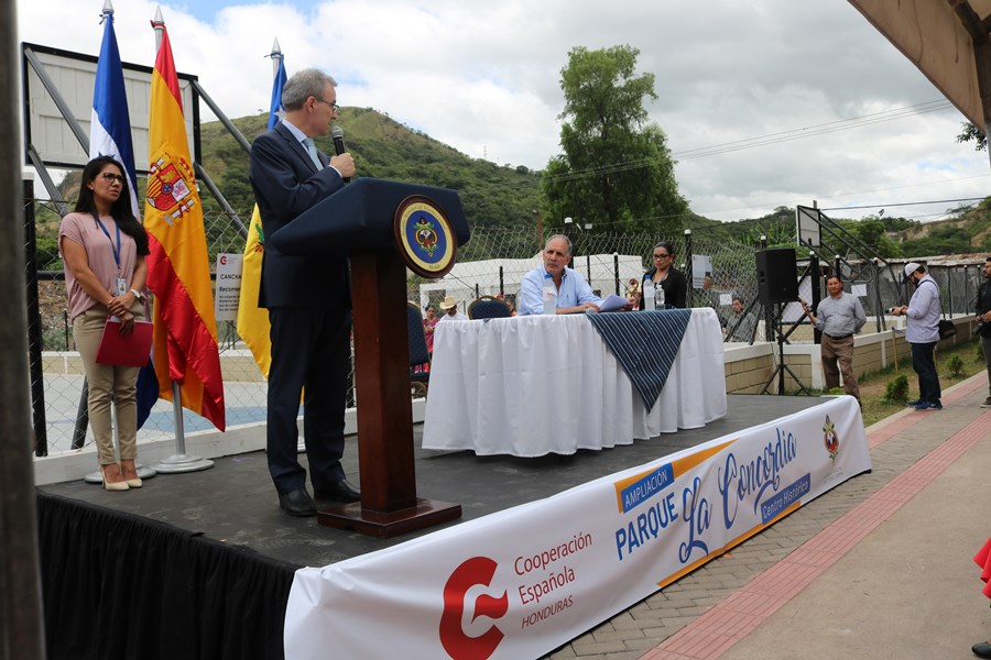 Ayer se inauguró la ampliación del Parque La Concordia